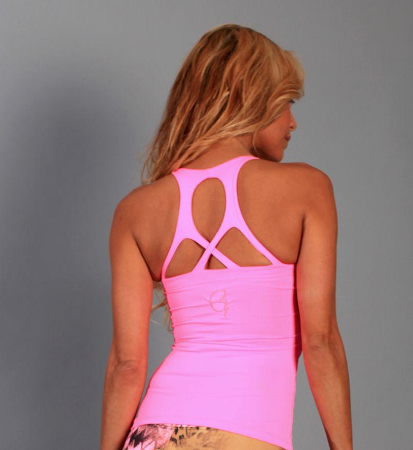 Equilibrium Tank Top EQ133, yoga tops, equilibrium activewear tops, print tops, fitness tops