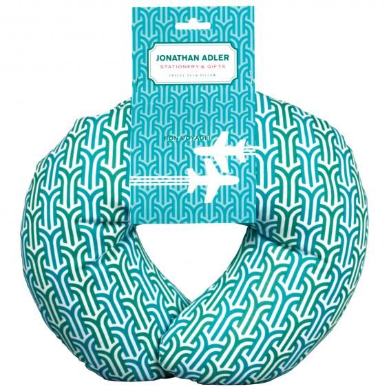 Jonathan Adler Travel Neck Pillow available at Annie Prue.