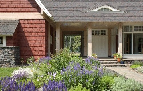 7 Popular Siding Materials To Consider: Beautifully Decorated Entry With Eyebrow Window, Rough