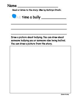 creative writing stories about bullying