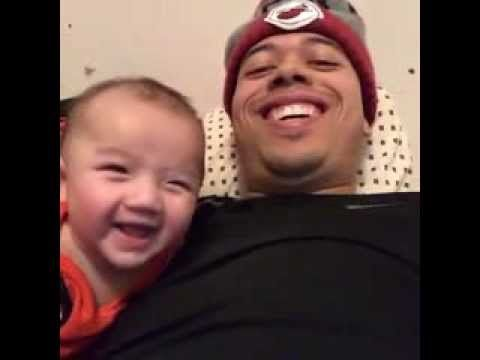 Mighty Duck takes a selfie with baby Luke - YouTube ...