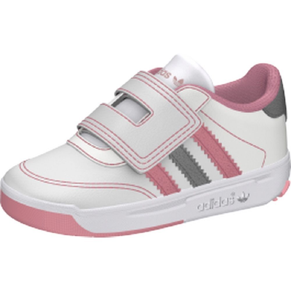 adidas Casual Trainers Faux Leather Shoes for Girls