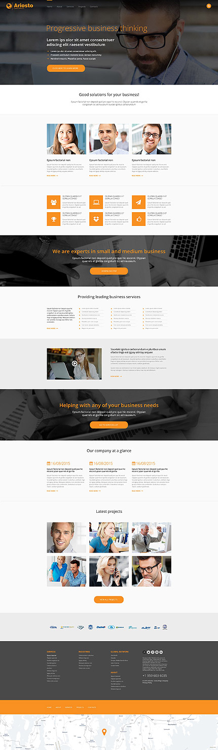 Pin by proscript sell on scriptsell pinterest corporate check out this consulting responsive website template learn all the technical features and requirements before you buy it accmission Images