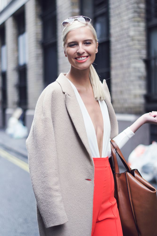 Zoe Basia Brown Street Style At Brewer Street For London Fashion Week Ss16 Photography By Sara