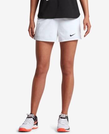 9ef63e8ed0451 NikeCourt Flex Pure Tennis Shorts - White XL