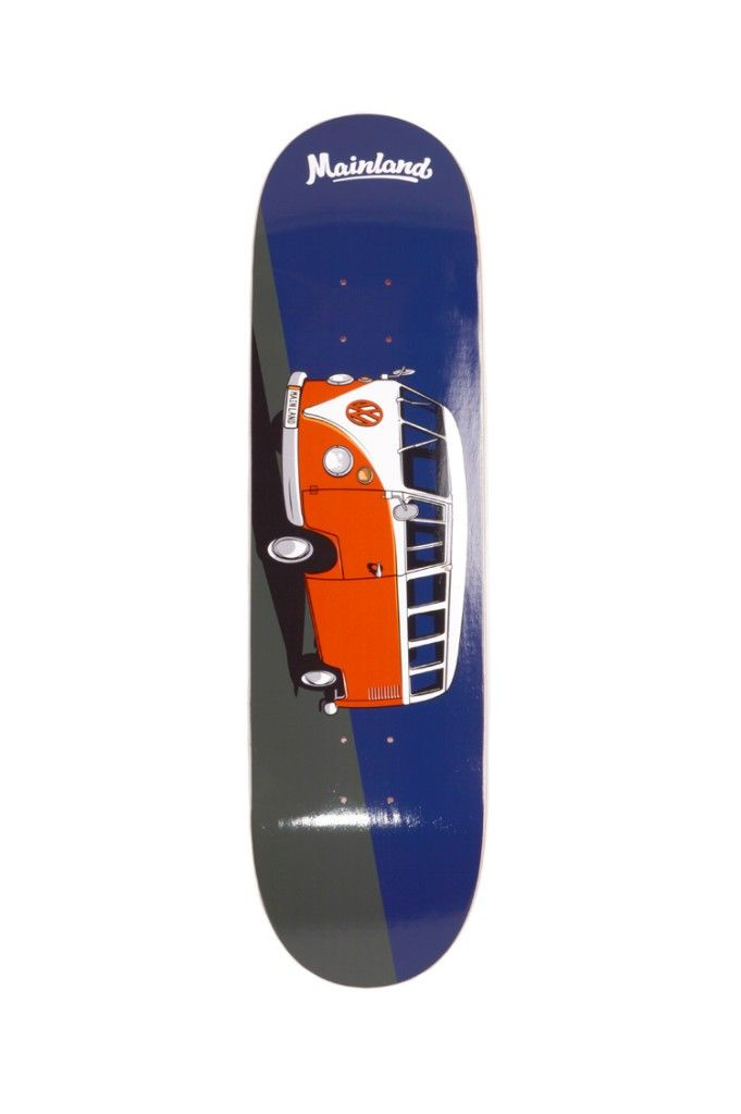 Mainland 8 5 Vw Bus 2 Deck Mainland Skate And Surf Vw Bus Skateboard Equipment Deck