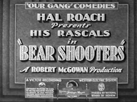 Our Gang/ The Little Rascals Bear Shooters 10 (1930)