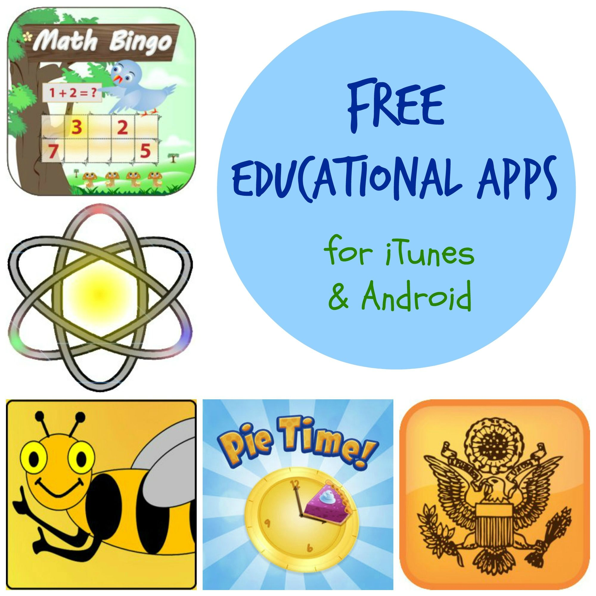 FREE Educational Apps for iTunes & Android: Spelling Bee ...