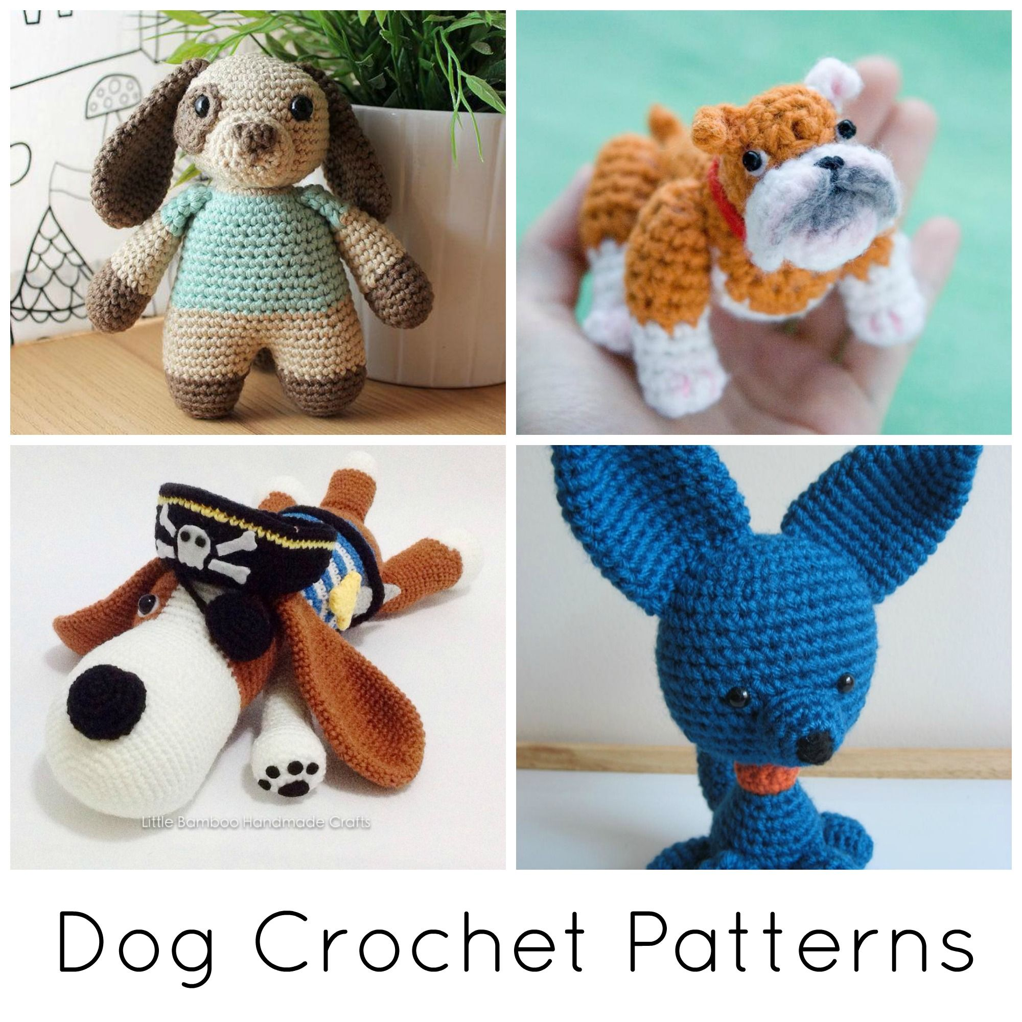 Find Your Favorite FREE Plushie Pattern on Craftsy! | Dog crochet ...