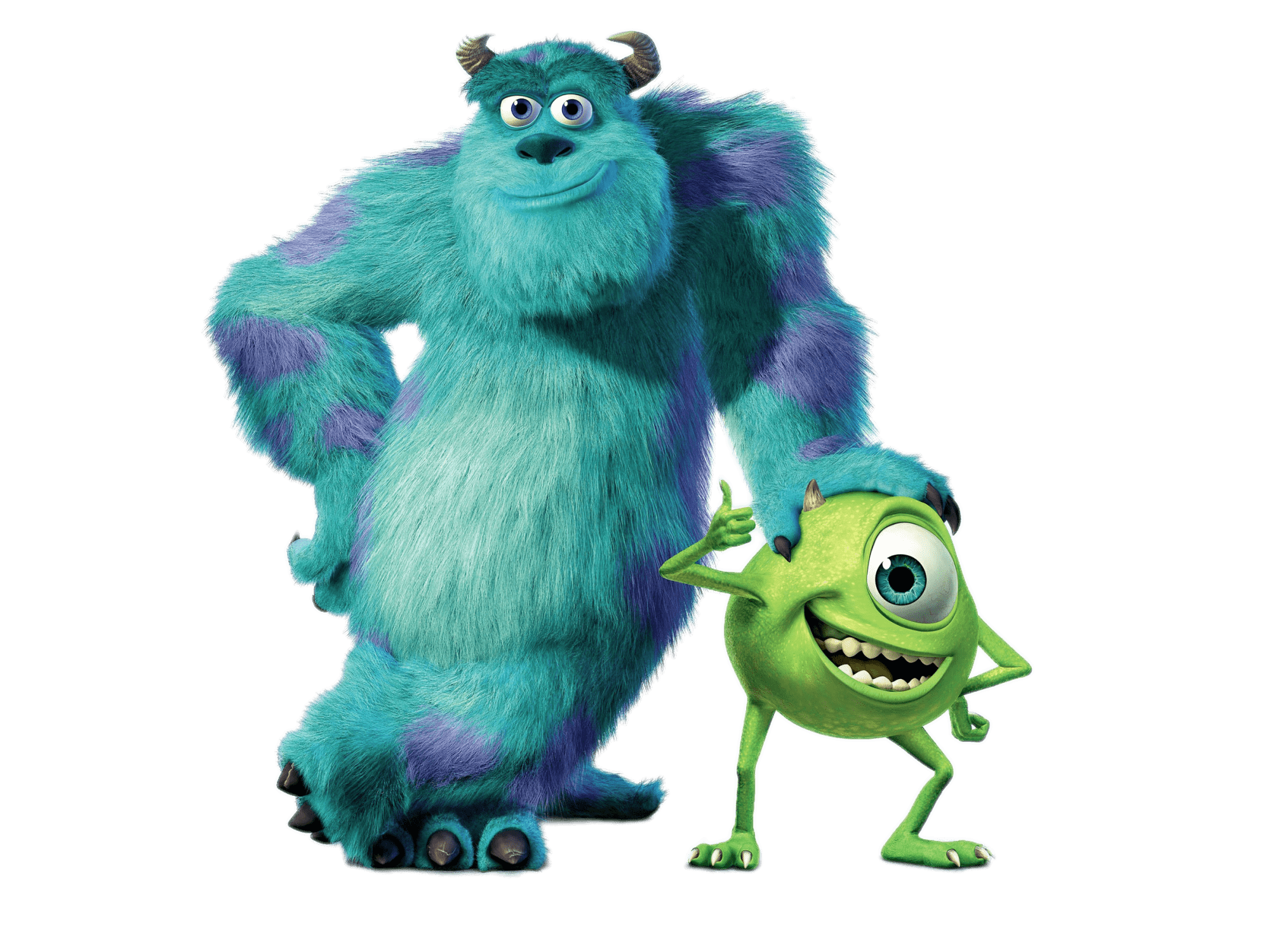 Mike & Sully Monsters inc characters, Monsters inc, Mike