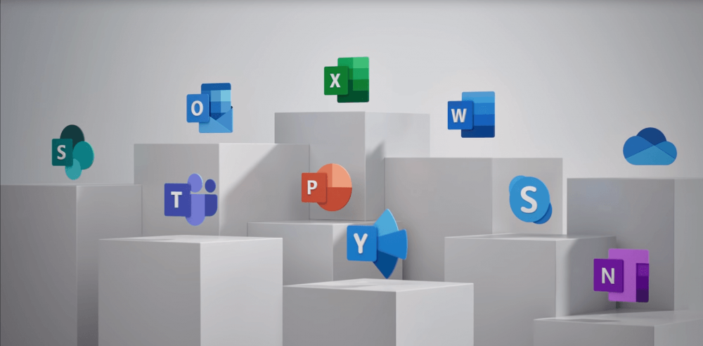 Microsoft's new Office logos are a beautiful glimpse of