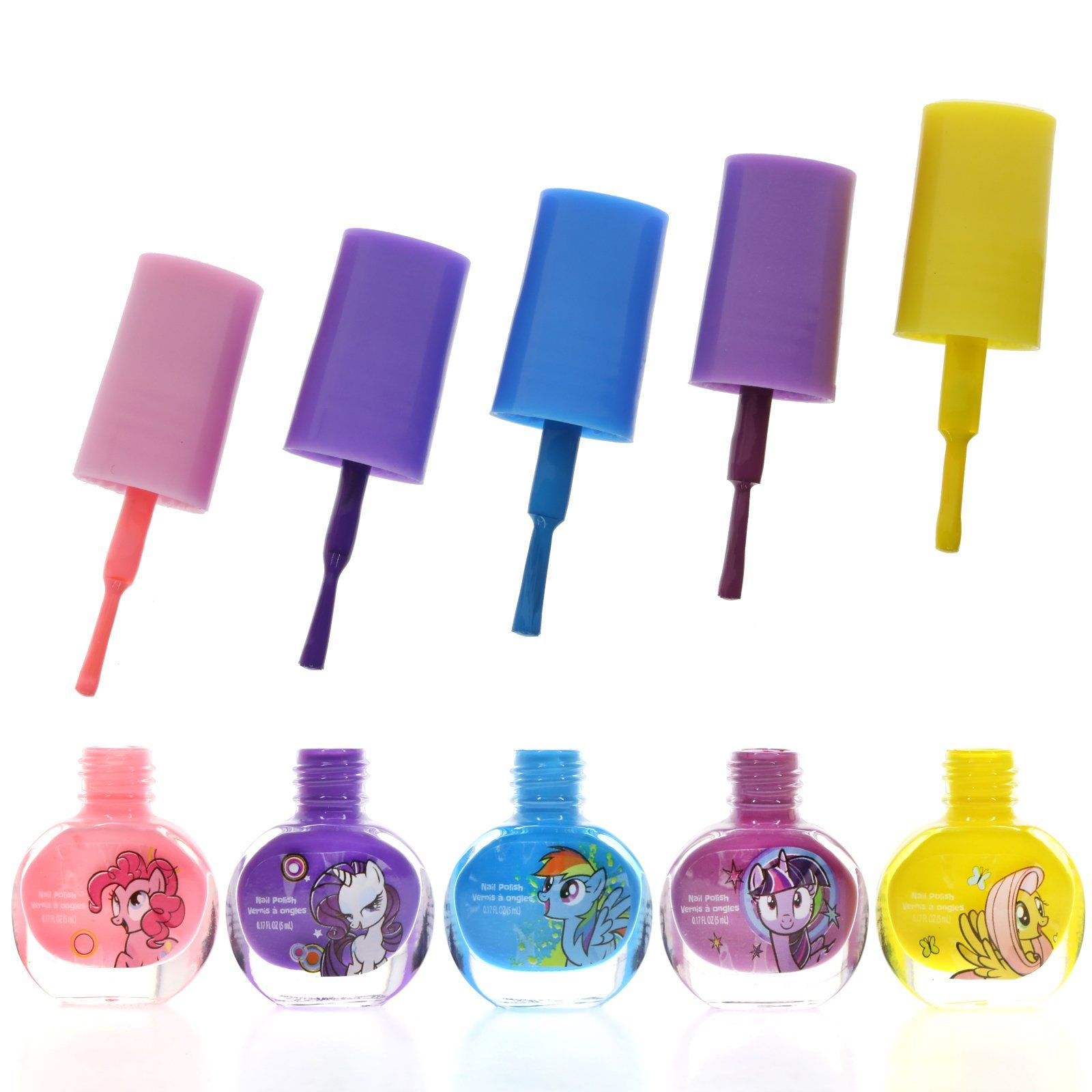 TownleyGirl My Little Pony Super Sparkly Cosmetic Set with lip gloss
