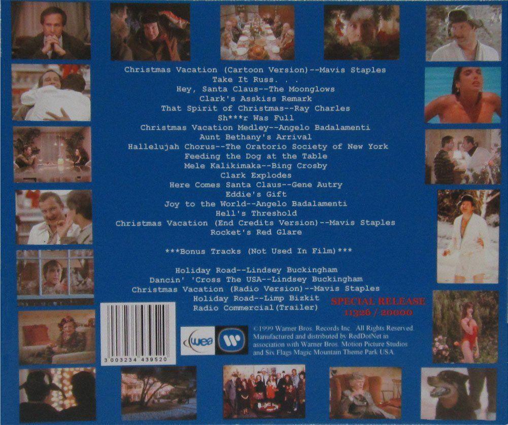 Christmas Vacation Movie Soundtrack