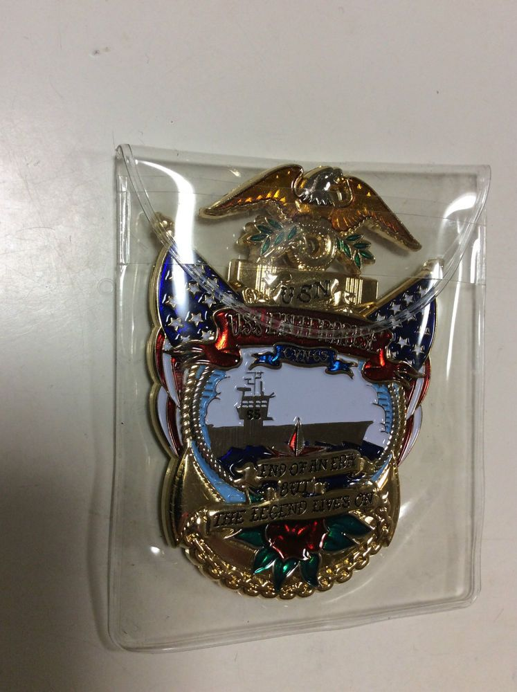 Uss Enterprise Cvn 65 Navy Chief Cpo Challenge Coin Japan