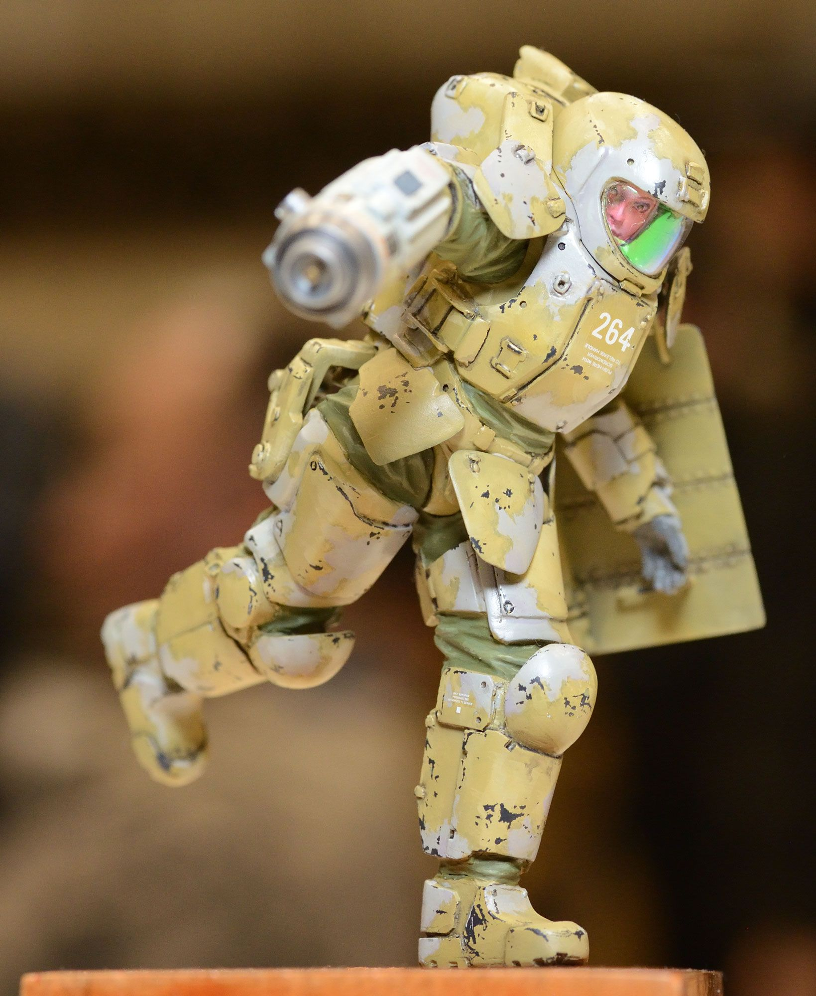 Maschinen Krieger - 1/20-scale AFNS suit by Honemits Products