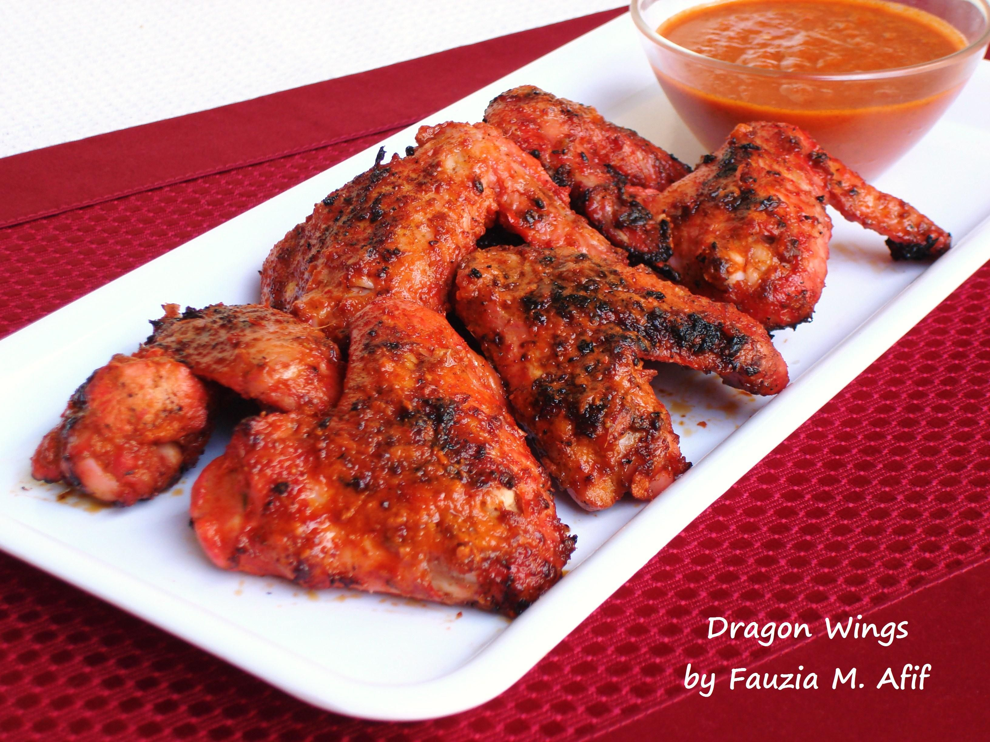 Dragon Chicken Wings Chicken Wing Recipes Spicy Chicken Wings Recipe Chicken Wings