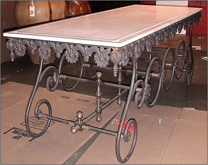 French Pastry Table For Sale