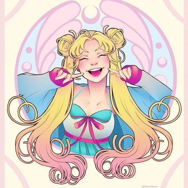 Usagi Tsukino Sailor moon art, Sailor moon fan art