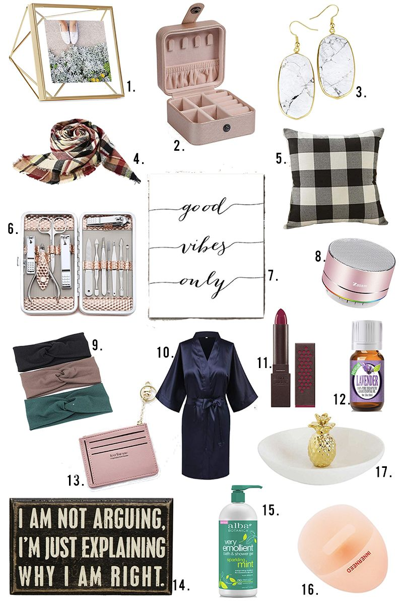 Small Christmas Gifts For Women