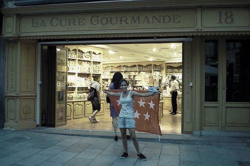 La Cure Gourmande :) (lovely sweet shop)