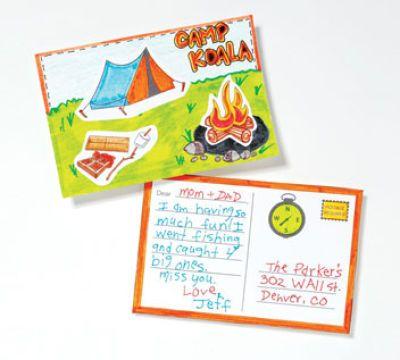 Summer Camp Postcard // send TWIST a postcard for 15% off your ...