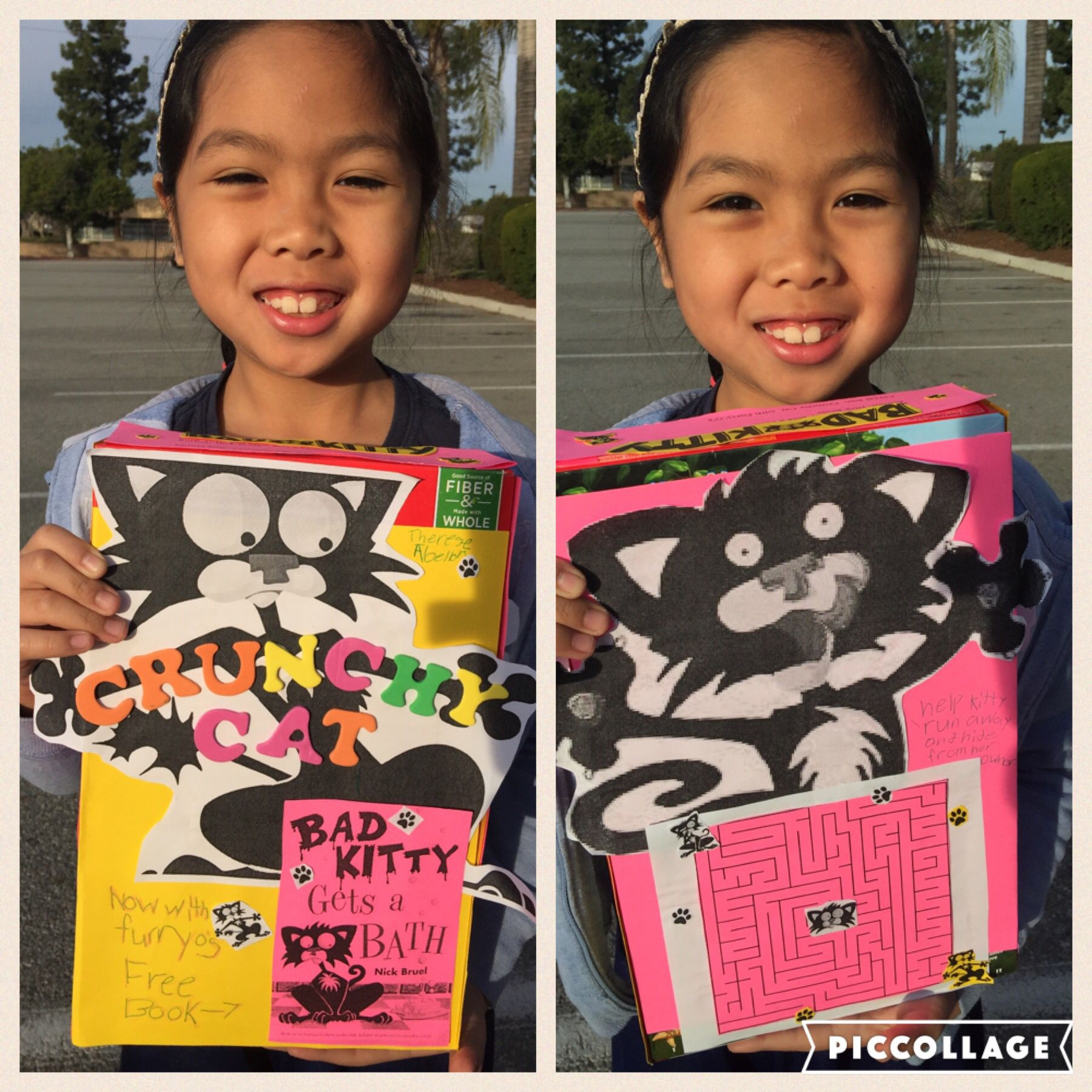 2nd Grade Cereal Box Book Report