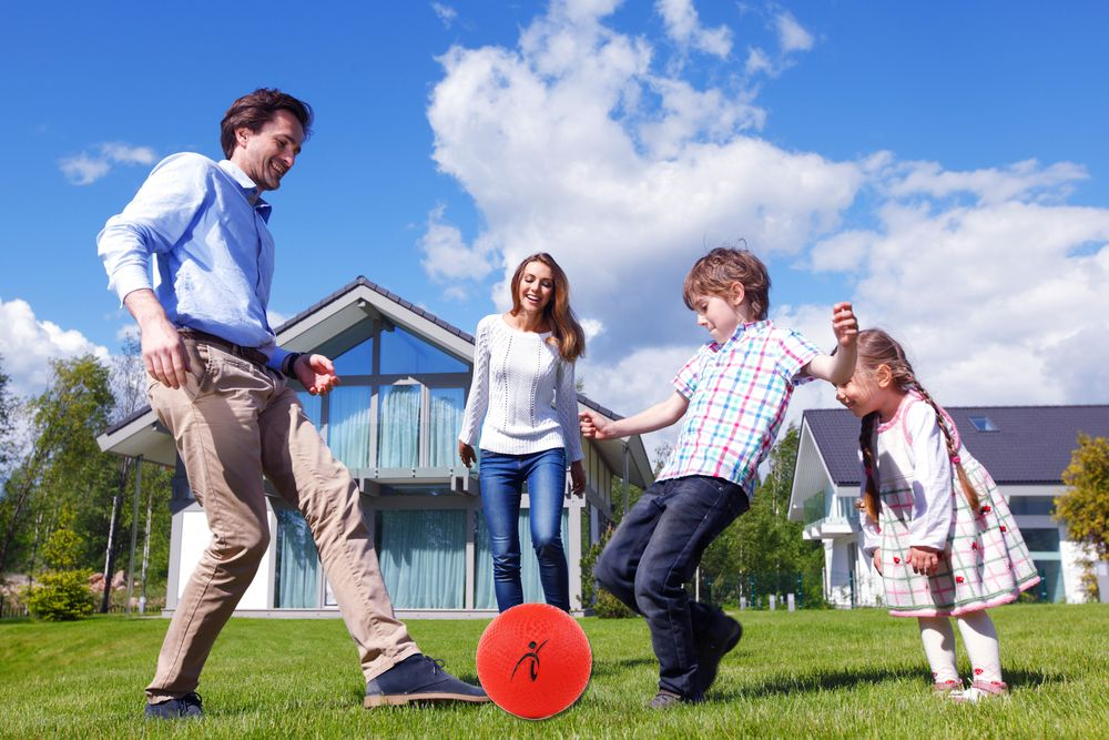 Want To Go Outside To Play Ball With The Kids How About A Mother S Day Game With The Fitness Factor 10 Inch Low Income Housing Outdoor Kids Mother S Day Games