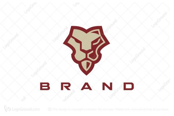Lion Face Logo Lion Face Industry Logo Mobile Icon