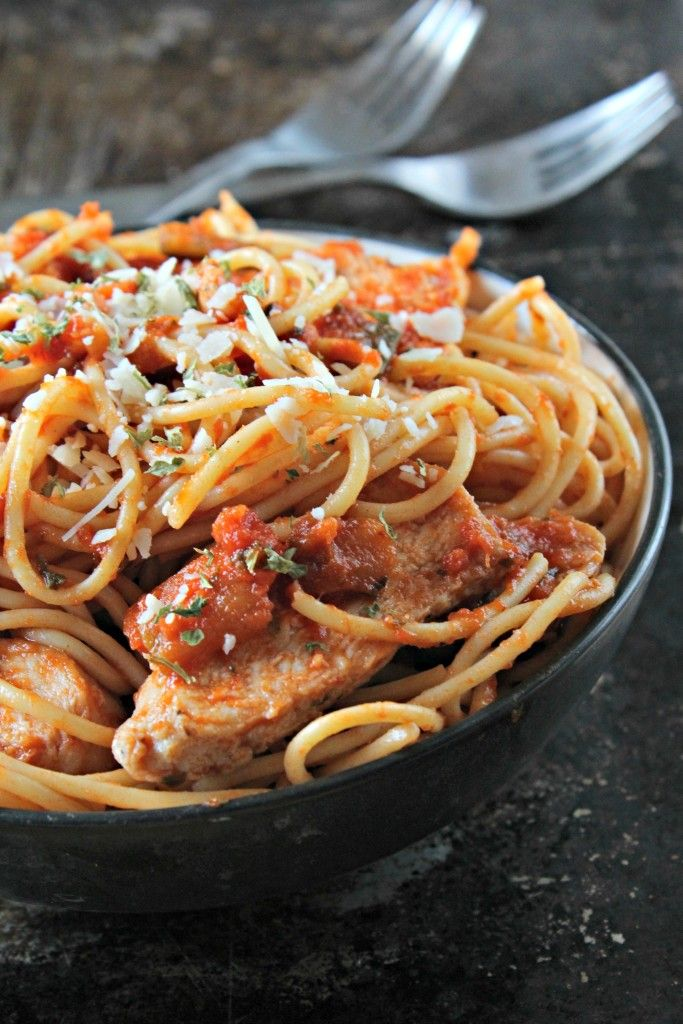 how long to cook frozen chicken parmesan