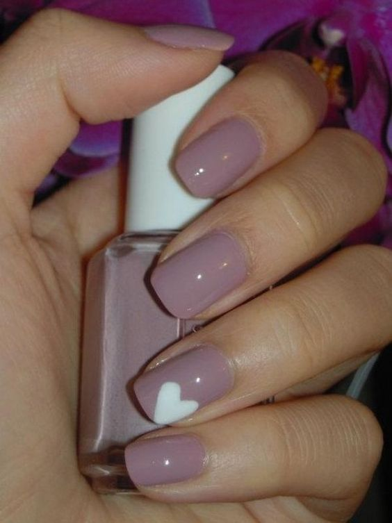 Lovely nail designs to try for Valentine\'s Day | nailart | Pinterest ...