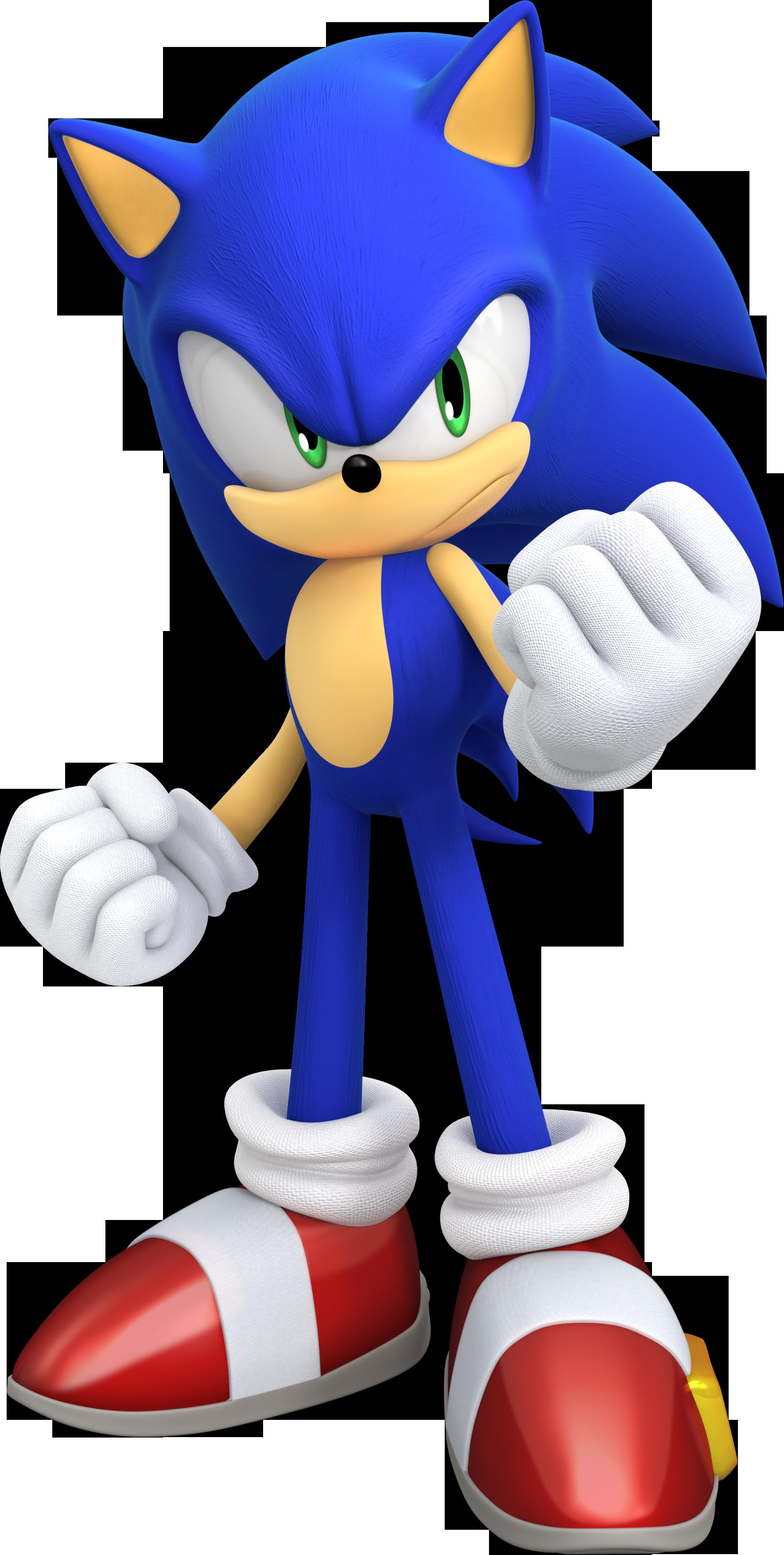 Das Bild zeigt das Maskottchen von Sega – Sonic ©Sega