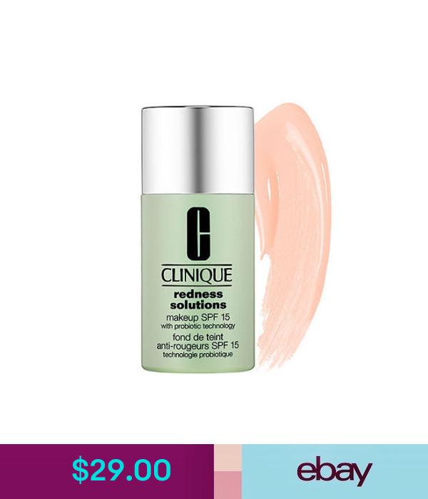 Face Clinique Redness Solutions Makeup Broad Spectrum Spf