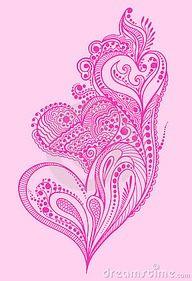 paisley heart tattoo google search tattoos u003c3 pinterest rh pinterest com Paisley Colorful Tattoo Designs paisley heart tattoo