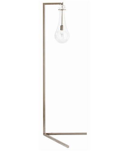Sabine Floor Lamp - Polished Nickel - Clayton Gray Home | Lighting ...
