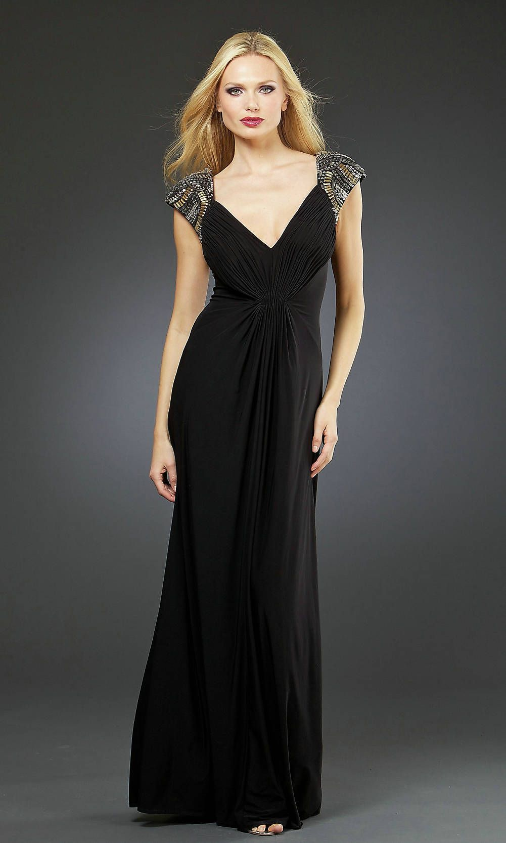 1000  images about Black Prom Dresses on Pinterest  Long prom ...