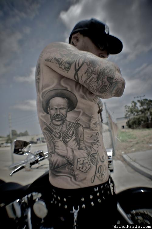Pancho Villa Tattoo - BrownPride.com Photo Gallery (BP ...