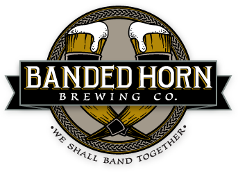 Banded Horn Brewing Company Craft Beer Made In Biddeford Me Craft Beer Brewery Logos How To Make Beer