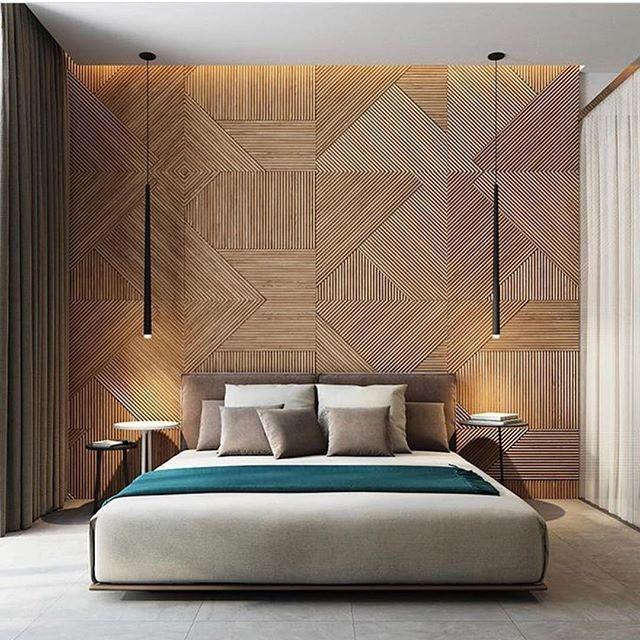 Bedroom Concept Art Master Bedroom Lighting Fixtures Bedroom Ideas Dark Wood Floor Bedroom Armoires Ikea: Repost Via: @boss_interiors. Wood Wall Bedroom By Studio