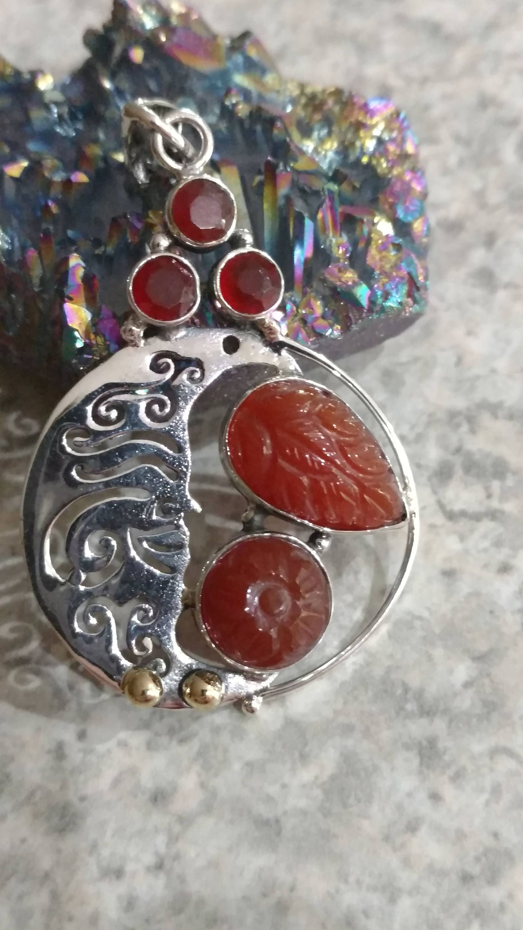 Moon beam carnelian pendant necklace by karinsforgottentreas on etsy moon beam carnelian pendant necklace by karinsforgottentreas on etsy mozeypictures Gallery