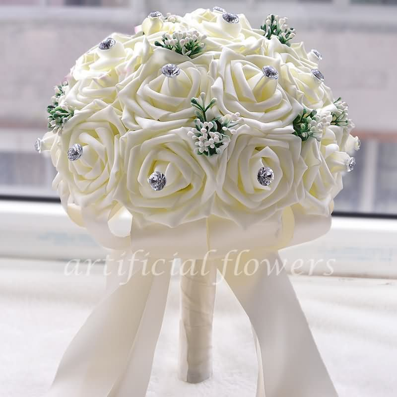 Artificial Flower Bouquets For Weddings Ideas Flowers For Bridal ...