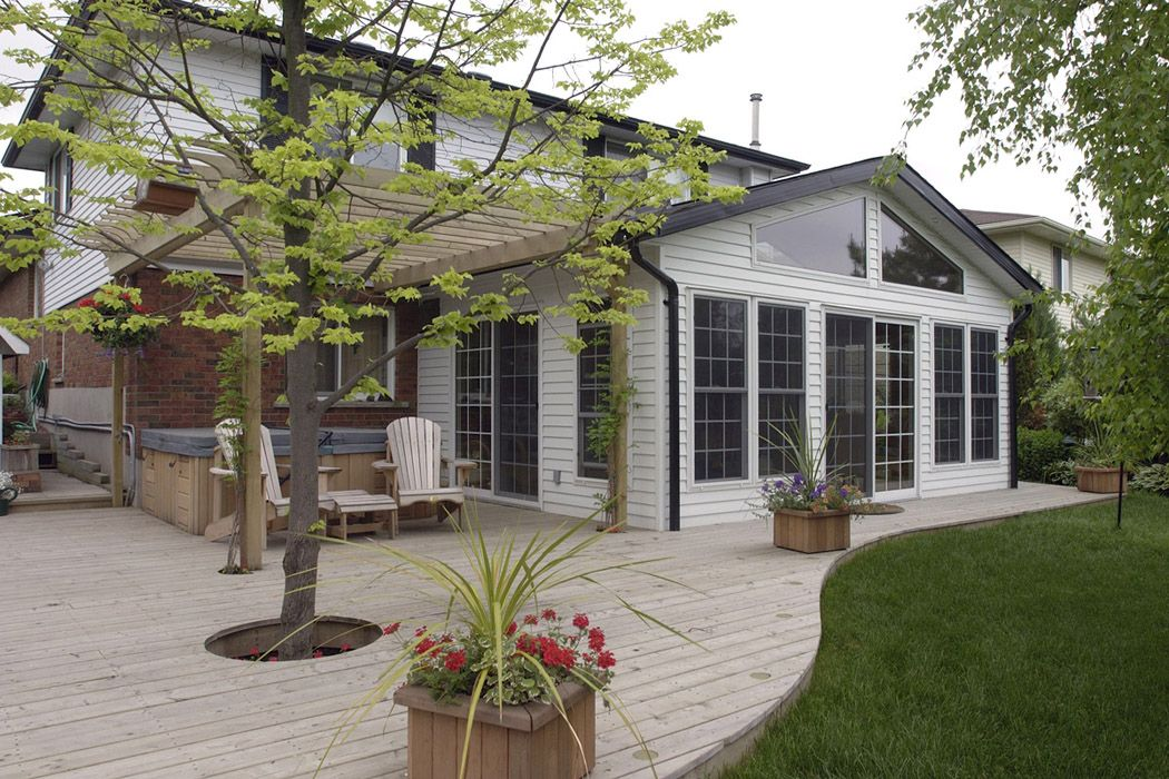 deck ideas pictures   ... brought back old world charm ... on Patio Renovation Ideas id=90063