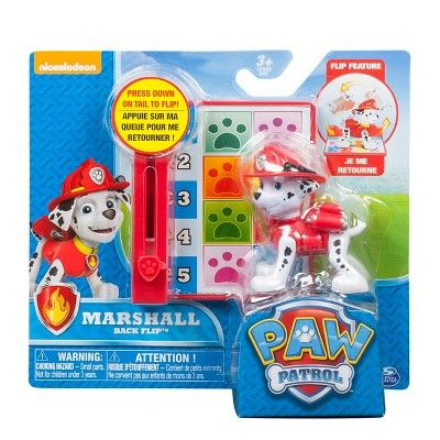 NEW NICKELODEON PAW PATROL ROCKY BACK FLIP PUP ACTION PACK FREE SHIPPING