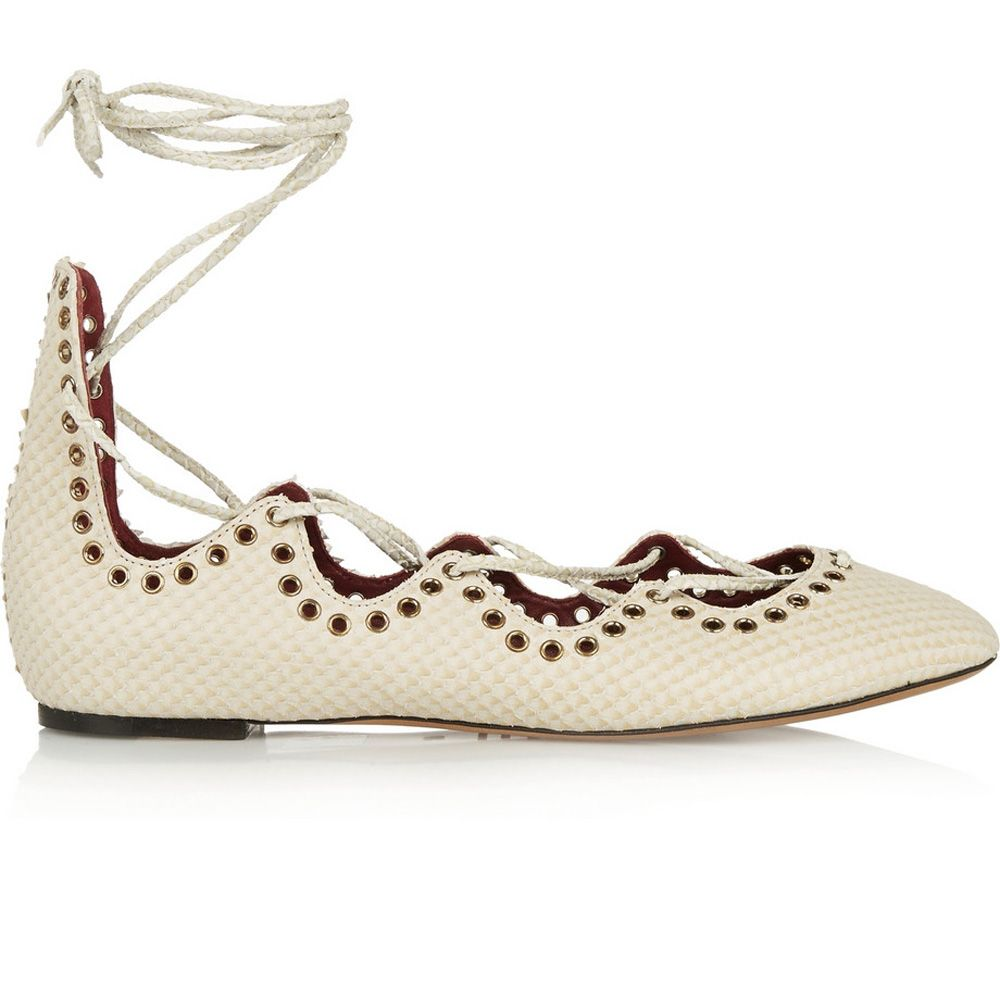 Love a flat shoe? You'll want to check out this pair, then.