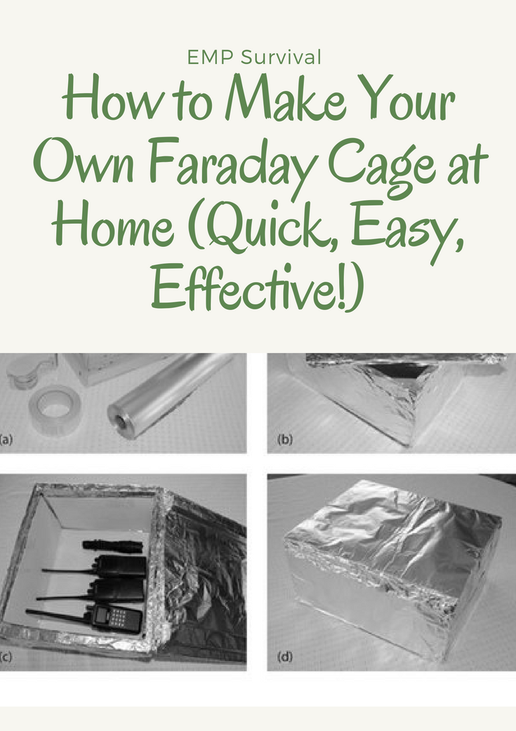 How To Make A Faraday Cage For Less Than 5 The Survivalist Blog Survival Survival Prepping Survival Tips