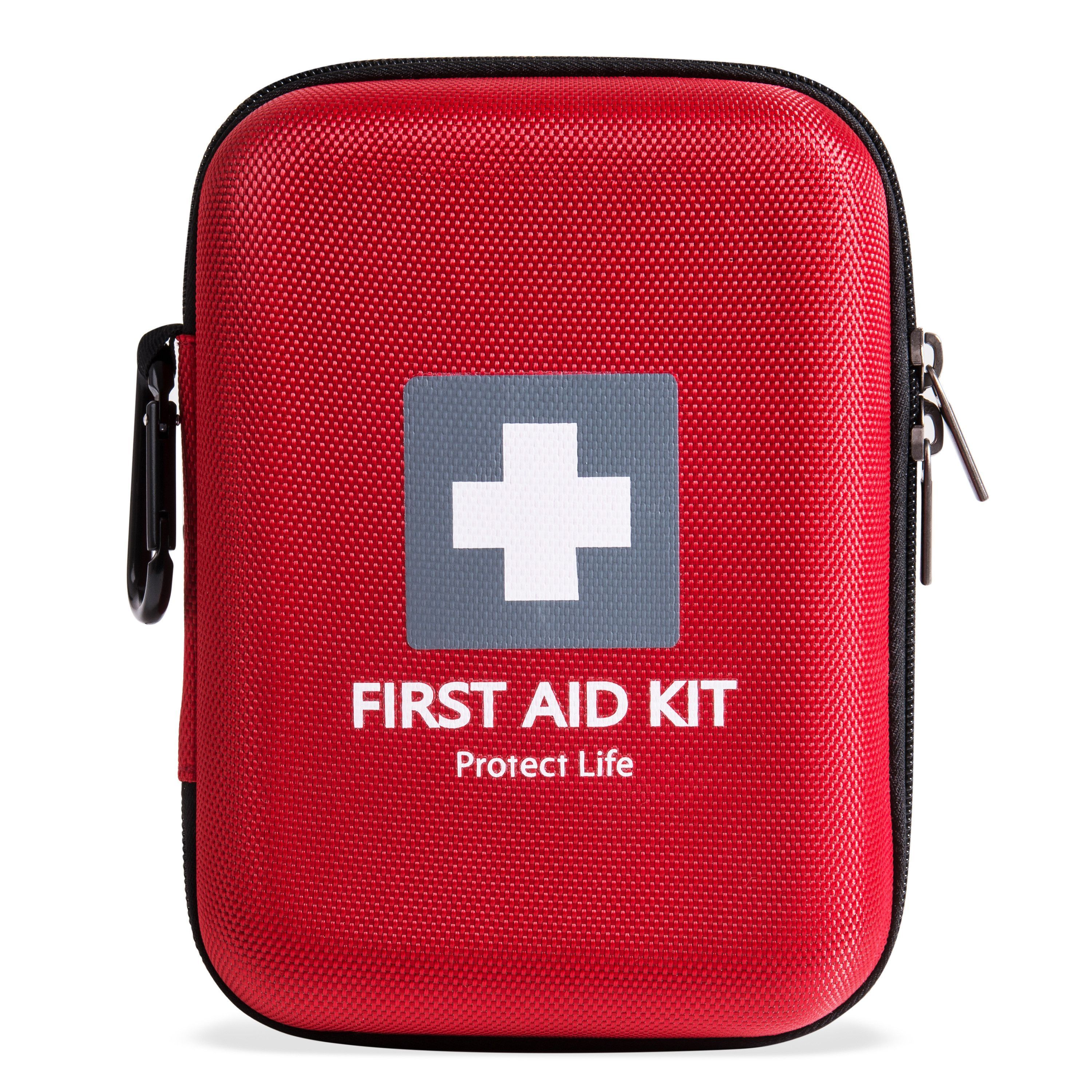 survival first aid kit for car home camping hiking 150 pieces