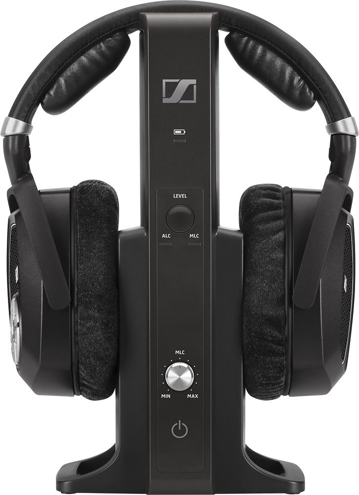 Sennheiser Rs 185 Rf Wireless Over The Ear Headphones Black