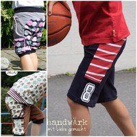 Freebook Motti Sporty kurze Sporthose für Kinder in