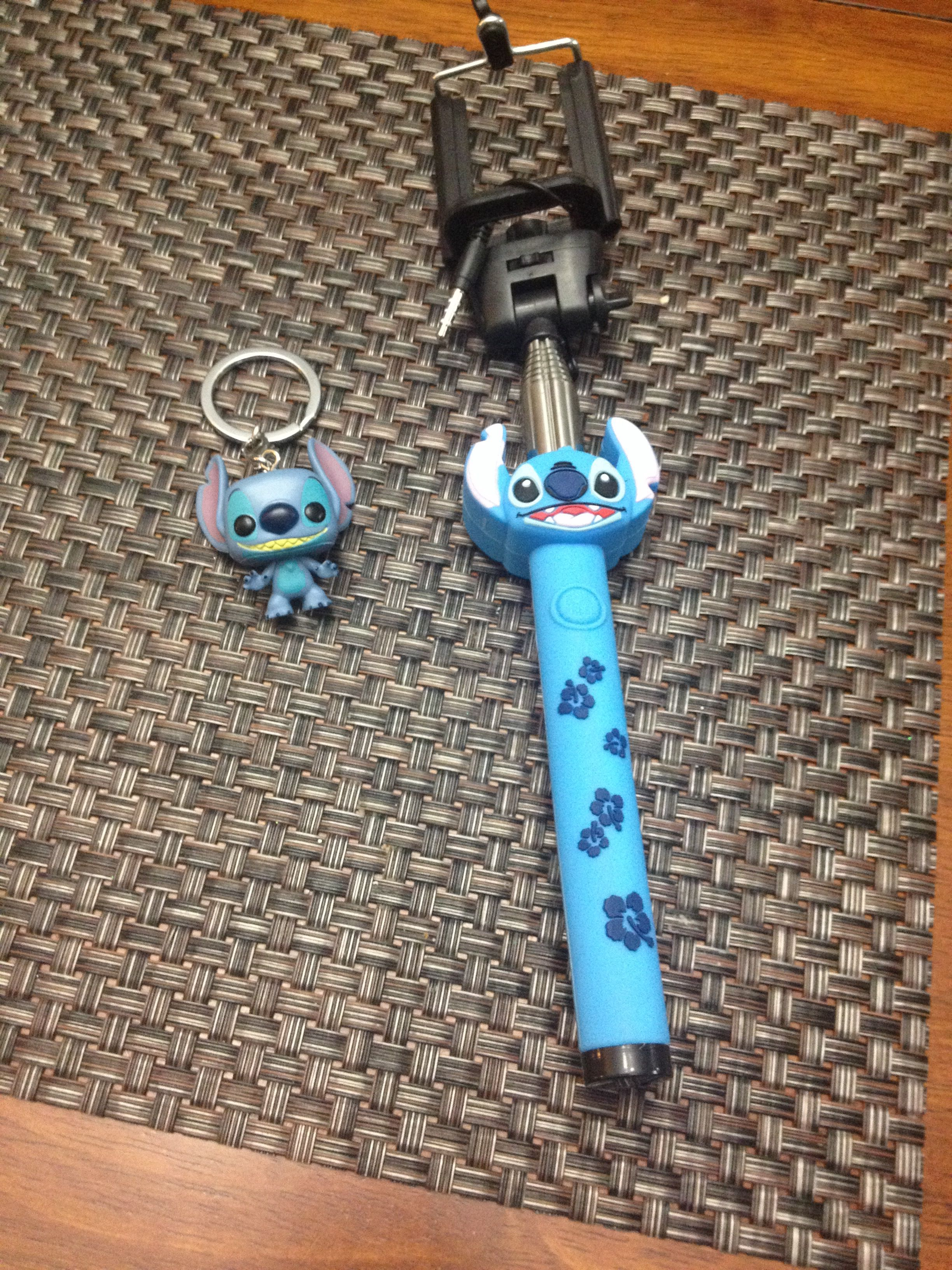 Went to hot topic and found these cute stitch things!
