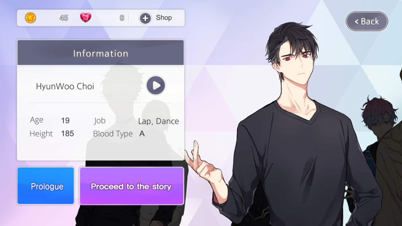 Ikemen Fangirl English Otome Game App With Korean Voice My Game App The Voice Fangirl