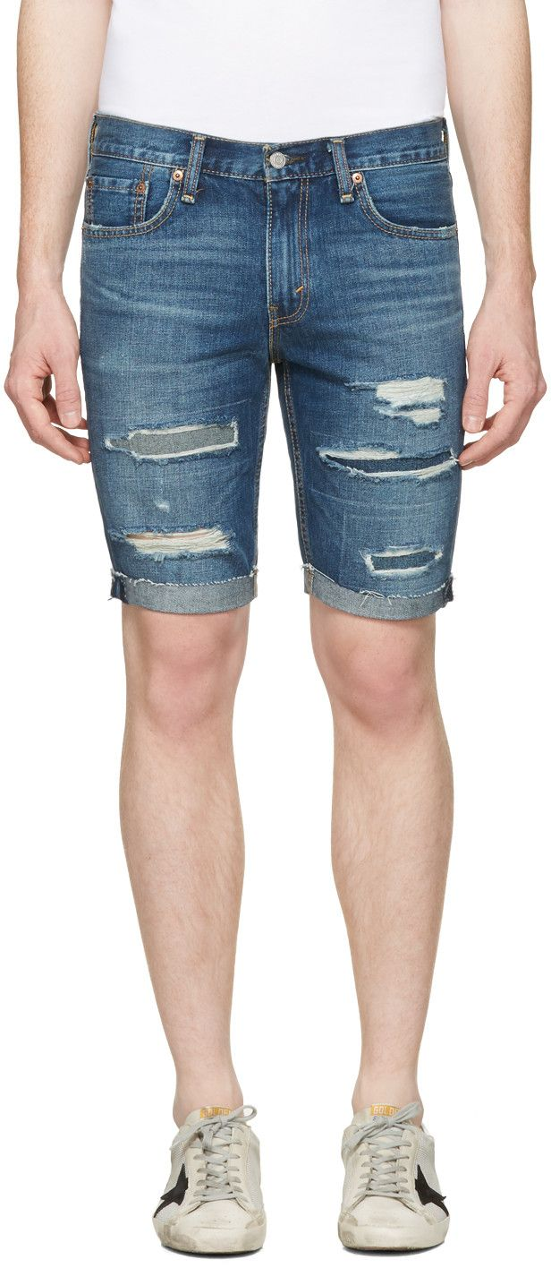 69a15134 LEVI'S Short En Denim Indigo 511. #levis #cloth #511 | Levi'S Men ...